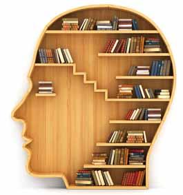 Een hoofd als boekenkast