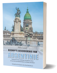 omslag van het boek Beknopte geschiedenis Argentinië