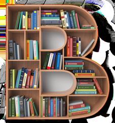 De B- van Boekenplan met handig gesorteerde boeken in de letter B