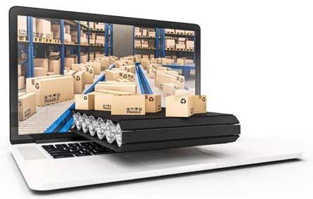 boekenplan met digitale productie en voorraadafhandeling