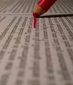 manuscript redigeren