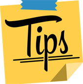 Tips voor veel succes